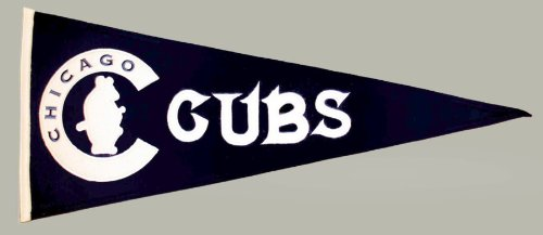 MLB Chicago Cubs Medium Throwback Pennant