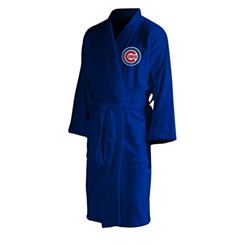 The Northwest Company MLB Chicago Cubs Men's Bathrobe, One Size, Multicolor