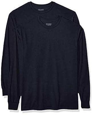 Gildan Men's DryBlend Adult Long Sleeve T-Shirt, 2-Pack