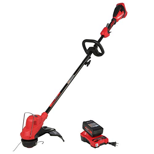 POWERWORKS XB 40V 15-Inch (Gear Reduced) Cordless String Trimmer, 2Ah Battery and Charger Included STP302