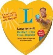 Langenscheidt Deutsch-Frau/Frau-Deutsch, 40 Karten m. Karten-Clip u. Magnet
