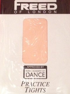 Freed of London Ballet practice tights - ballet pink - Maids age 12-14 yrs