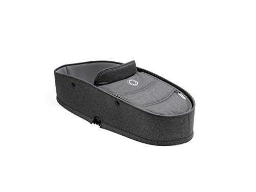 Bugaboo Bee5 Bassinet Complete, Grey Mélange - Use Your Bugaboo Bee5 from Infant with The Bassinet