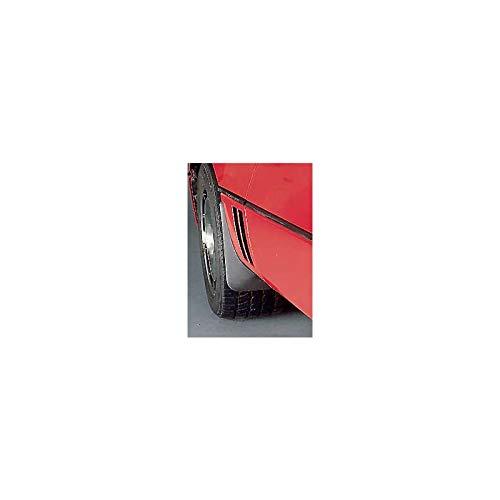 - Eckler's Premier Quality Products 25120997 Corvette Body Contoured Front Splash Guards Matte Black Altec