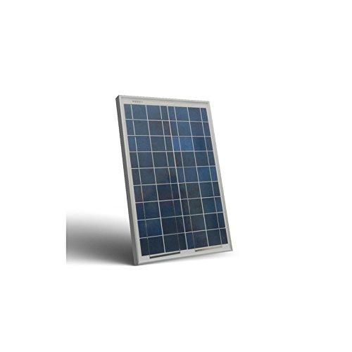 Pannello Solare Fotovoltaico 20W 12V Policristallino Impianto Camper Barca Baita Peimar