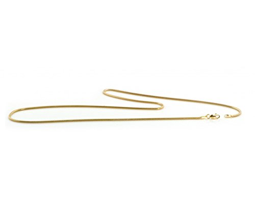 Certified Jewelry 14K Gold Filled Snake Anklet Available in 9.5