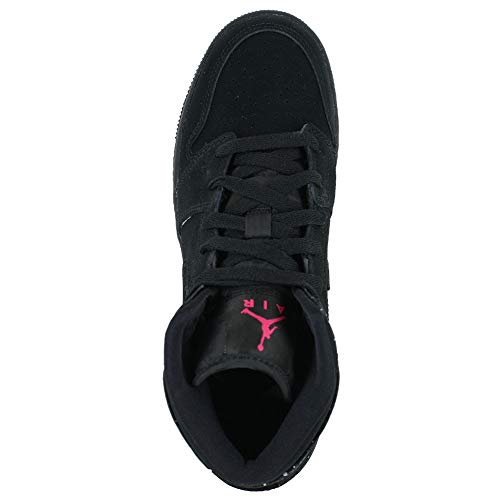 Mid rosa bianco white Scarpe Fitness black rush Air Da Jordan Pink Nike 1 Nero 001 black Donna gs xwZPXnq