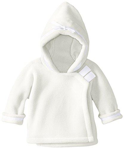 Widgeon Baby Girls' Warm Plus Fleece Jacket, White, 3 ()