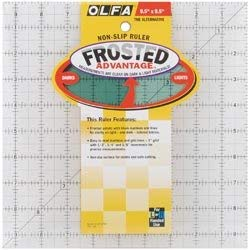 (Olfa Frosted Ruler The Alternative 9 1/2