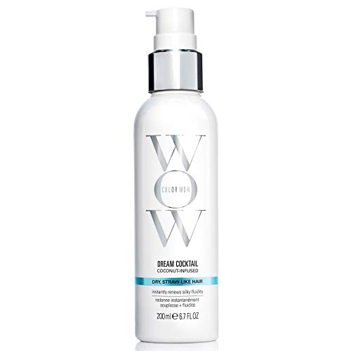 COLOR WOW Dream Cocktail – Coconut Infused leave-In Treatment for Dry Hair, 6.7 Fl Oz
