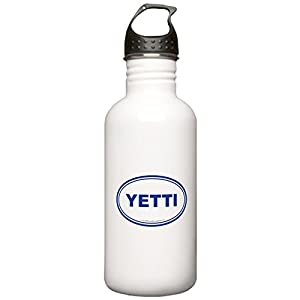 CafePress - YETTI EURO Oval, Sasquatch, Big Foot Stainless Wat - Stainless Steel Water Bottle, 1.0L Sports Bottle