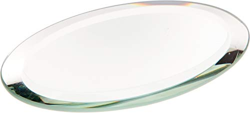- Plymor Oval 3mm Beveled Glass Mirror, 2 inch x 3 inch (Pack of 3)