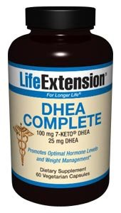 Life Extension DHEA complète, Vegetarian Capsules, 60-Count