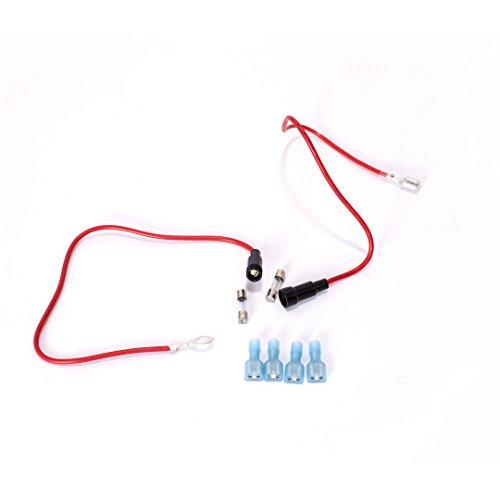ginsco cigarette lighter socket splitter 12v dual usb 2a