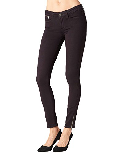 Paige Women's Shay Zip-Ankle Jean (28, Deep Vine) by PAIGE