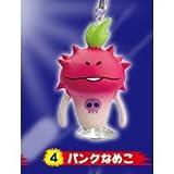 Re-Ment Touch Detective Nameko cultivation kit Nameko Sucker Mascot ''NameQ5'' [4. Punk Nameko] (Japan Import)