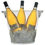 ウェイブ ワインクーラー シャンパンクーラー クリア L 2925 グローバル