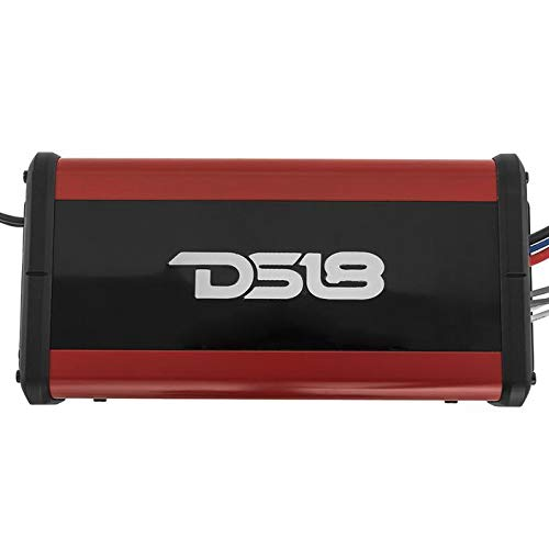 DS18 Elite Z-9K1D Car Audio Amplifier in Black 1//2//4 Ohm Digital MOSFET Car Audio Amp for Subwoofer and Door Speakers Class D Monoblack with Remote Subwoofer Level Controller 9000 Watts Max