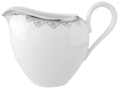 Villeroy & Boch White Lace 7-Ounce Creamer ()