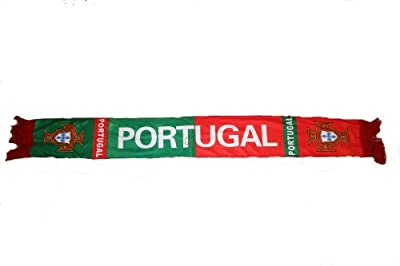 Portugal Soccer World Cup Flag Crushed Fleece Scarf Scarves .. Great Quality .. New