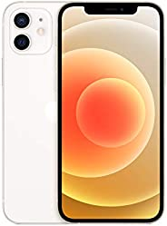 New Apple iPhone 12 (128GB, White) [Locked] + Carrier Subscription