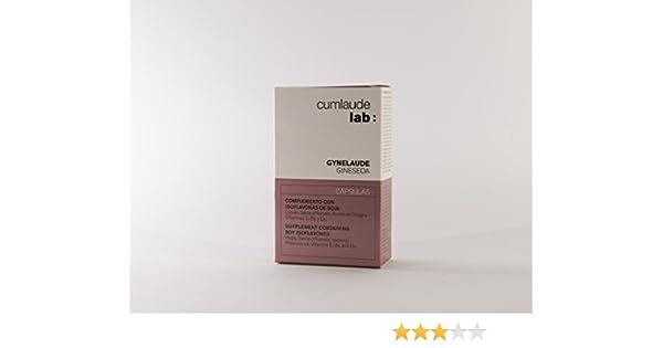 CUMLAUDE - CUMLAUDE Gineseda con Isoflavonas 30 cápsulas: Amazon.es: Salud y cuidado personal