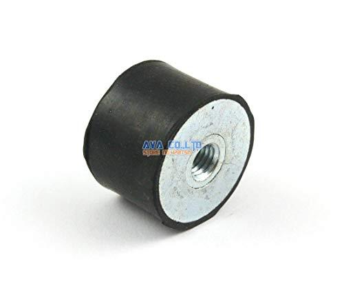 Ochoos 4 Pieces 3020mm M8 Female - Female Rubber Anti Vibration Mount Bobbin Isolator