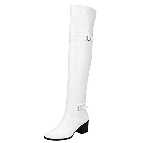 Boots Monk COOLCEPT White Women Strap BF4qZw