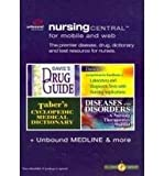 Nursing Central for Mobile and Web, Medici, Unbound and Deglin, Judith, 080362266X