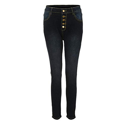 TOPUNDER High Waisted Jeans for Women Skinny Denim Jeans Stretch Slim Pants Calf Length ()