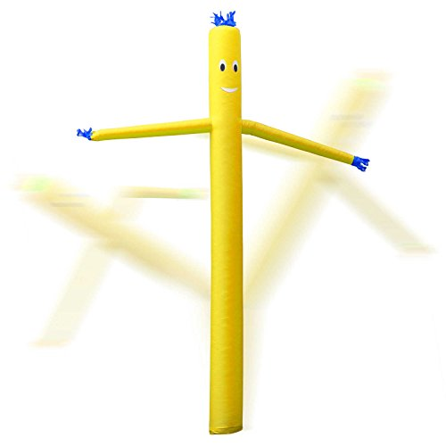 Inflatable HQ 20 ft. Tall Air Inflatable Dancer Tube Puppet - Yellow (Blower Not Included) Photo #2