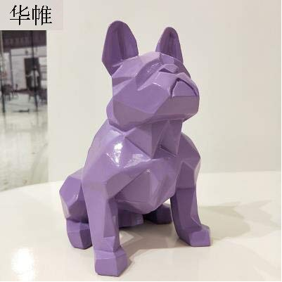 - Viet JK Others - Nordic Abstract Geometric Resin Dog Statue Modern Minimalist French Bulldog Sculpture Animal Statue Ornament, Craft Decorations - by GTIN - 1 PCs