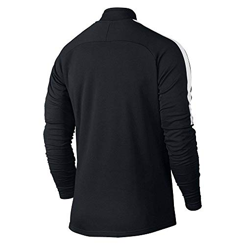 Nike Blanco Justaucorps Drell Acdmy negro Blanco Manches Agrave; Longues Dry Negro Homme vvr4wdq