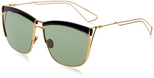 Dior MY2 Black Yellow Gold So Electric 1 Cats Eyes Sunglasses Lens Category - Sunglasses Dj 58