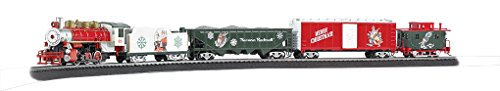 Bachmann Trains - A Norman Rockwell Christmas Ready to Run Electric Train Set - HO Scale