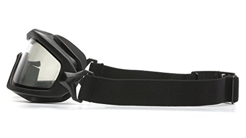 Pyramex V2G Safety Goggles with Adjustable Strap, Black Frame, Dual Clear H2X Anti-Fog Lens by Pyramex Safety (Image #5)