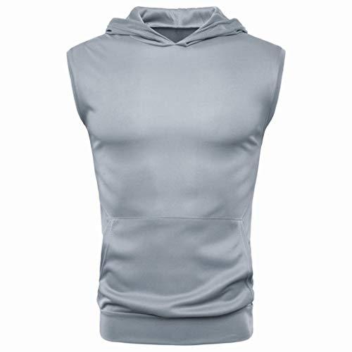 iHPH7 Sports T-Shirt Tops Vest Men Casual Hoodie