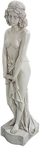 Design Toscano AL56500 Greek Goddess Harmonia Garden Statue,antique stone
