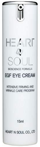 EGF Eye Cream – Korean Skin Care Under Eye – Anti Aging Wrinkle Care Treatment Day & Night Serum – Tightens & Lifts For All Skin Types (15ml) 0.5 oz