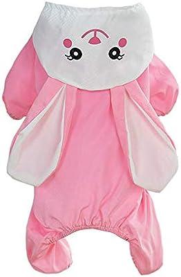 WTDlove Impermeable para Mascotas Cuatro pies Hat tiburón Conejo ...