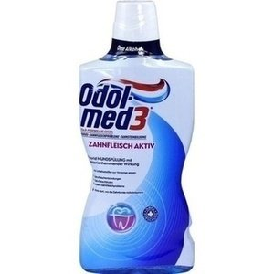 Authentic German Odol Med 3 Antibacterial Gum Active Mouthwash 500 Ml