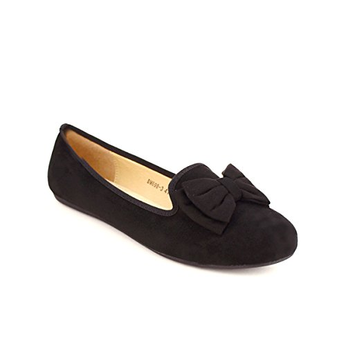 Cendriyon Ballerine Noire Noeud BAB'S Chaussures Femme Noir 9rbaN6uj