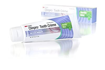 3M Oral Care ESPE 12117 Clinpro Tooth Creme 0.21% NAF Anti Cavity Toothpaste, Vanilla Mint