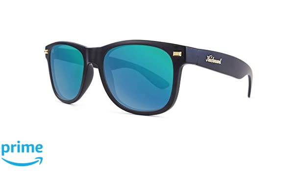 Gafas de sol Knockaround Fort Knocks Matte Black / Green Moonshine: Amazon.es: Ropa y accesorios