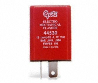 Grote 44530 2 Pin Flasher (12 Light Electromechanical) ()