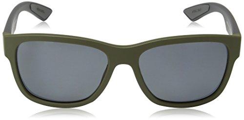 Prada Linea Rossa Lunettes de soleil 03Q Black Rubber / Grey Gradient Green Rubber