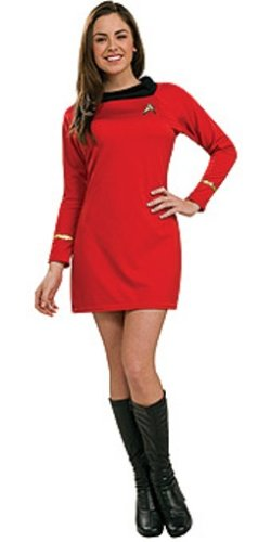 Star Trek Classic Deluxe Red Dress
