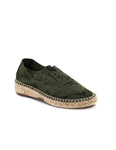 Natural Vert 697e Tissu World Sneakers Kaki SgX1SrT