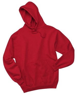 JERZEES Mens NuBlend Pullover Hooded Sweatshirt, XL, True (Adult Jerzees Sweatshirt)