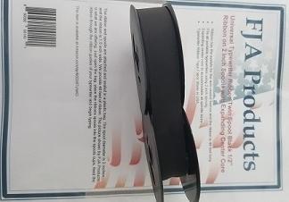 FJA Products Universal Typewriter Ribbon Twin Spool Black 1/2'' Ribbon by FJA Products  (Image #2)